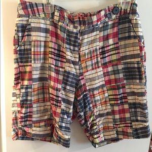 Larry Levine Multi Color Women's Shorts